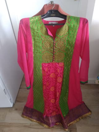 vestido fiesta India