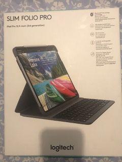 Logitech Slim Folio Pro Funda iPad con teclado