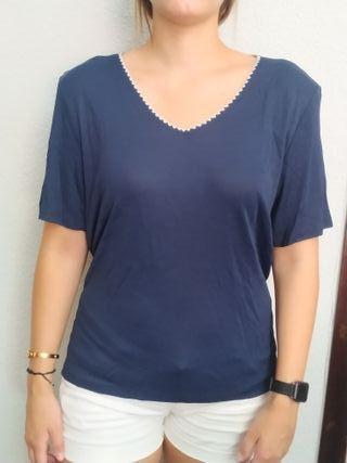 camiseta azul punto t52