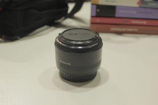 Objetivo Canon EF 50mm 1:1.8 II