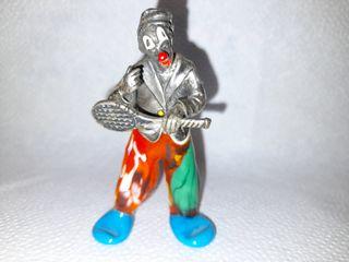 Figura de plata y cristal n° 4