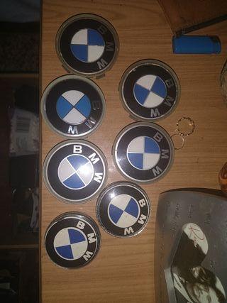 embellecedores BMW tapacubos semi nuevos