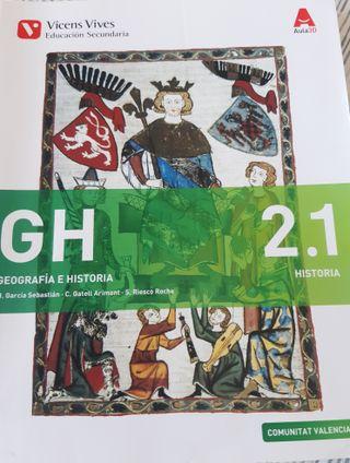 Libros Geografia eHistoria 2° ESO