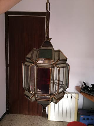 Lámpara techo mozárabe