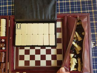 Maletín juegos vintage