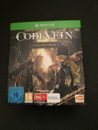 code vein edición coleccionista xbox one