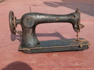 maquina de coser antigua Singer