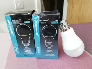 2 Pack 15W GLS LED Light Bulbs E27 6500K