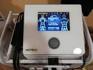 Máquina y chalecos de electroestimulación EMS myot
