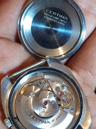 reloj certina automatic