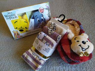 Pack calor y zapatillas Winnie the Pooh
