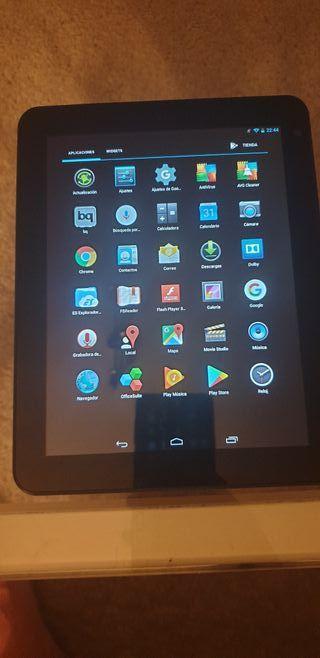"""Tablet BQ Curie 2 Quad Core 8 """" 16GB. Funciona per"""
