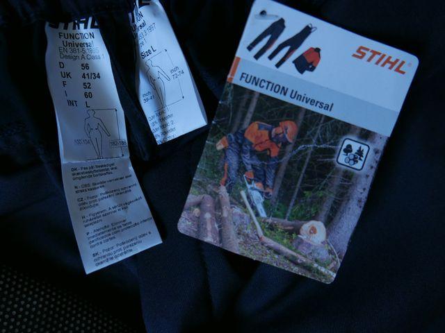 Pantalón seguridad Stihl nuevo