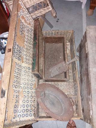 Aperos, baules antiguos decoración