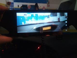Retrovisor universal con cámara