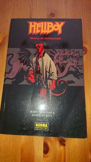 Hellboy-Semilla de destrucción