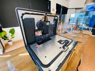 Montaje de disco ssd en iMac