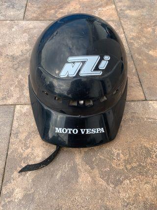 Casco de moto vespa talla M