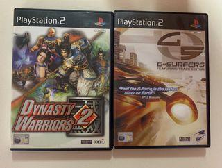2 juegos PS2