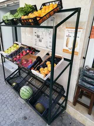 Venta estanterías para fruterias