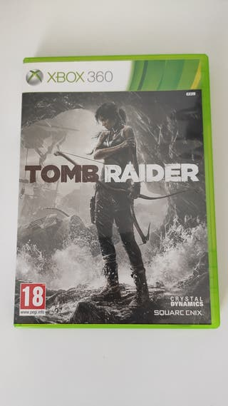 TOMB RAIDER (XBOX 360) PAL ESP