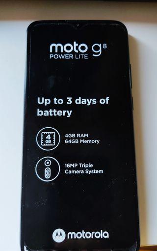 Se vende Motorola G8 lite power Nuevo