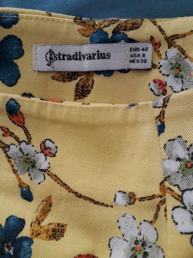 Falda mini Stradivarius nueva L