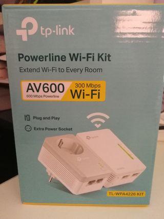 plc tplink señal wifi