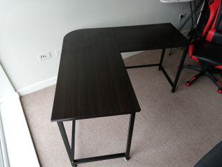 Computer Desk 140x140cm with 60cm Deep L-Shaped