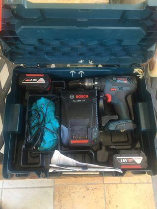 Taladro Bosch 18-28 GSB martillo atornillador