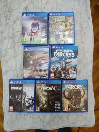 Juegos varios PS4
