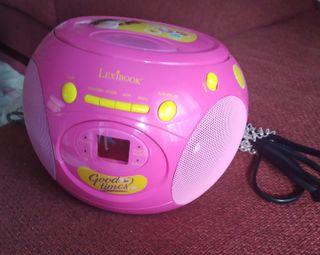 Reproductor de CDs infantil