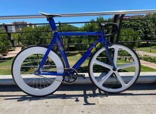 Bicicleta carreras urbana aero pista velódromo