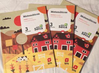 Matemáticas 3 de Primaria (savia)