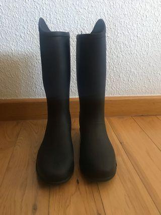 Botas agua negras