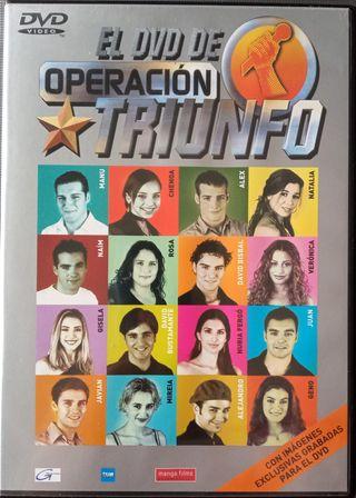 El DVD de Operación Triunfo