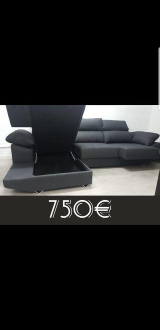 sofa chaiselong XXL GRANDE CÓMODO GARANTÍA