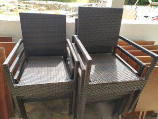 sillas terraza precio unitario