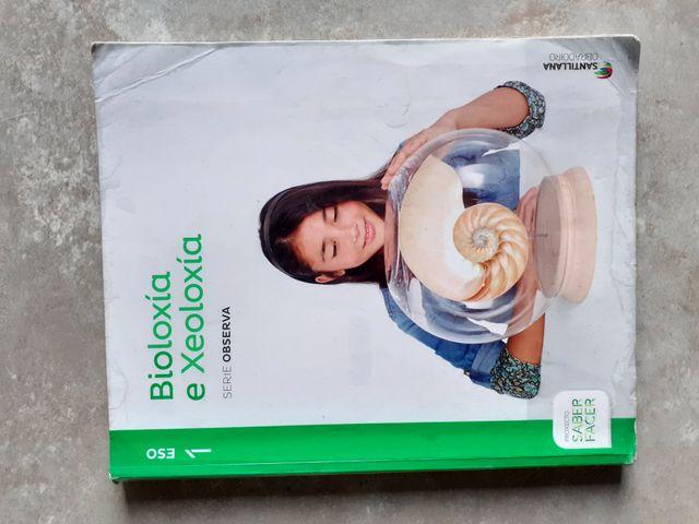 Libro Bioloxía e Xeoloxía 1 Eso