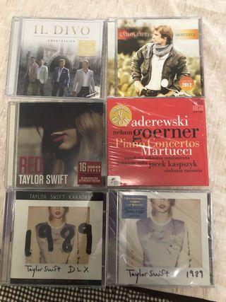 CD Taylor Swift, IL DIVO, Carlos Baute