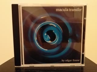 EDGAR FROESE Macula Transfer 76 CD TANGERINE DREAM