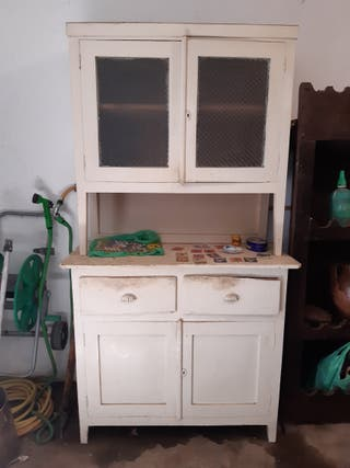 alacena de cocina de dos piezas
