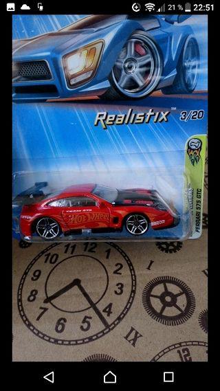 Ferrari 575 GTC. Hot wheels 2004