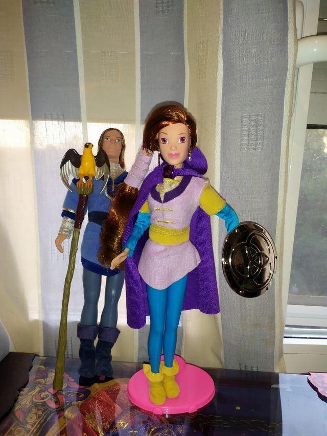 muñecos la espada magica