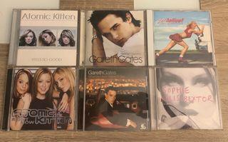 CD'S ARTISTAS BRITÁNICOS - 6 x TAN SOLO 20€