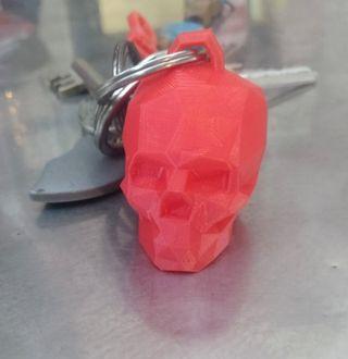 Llaveros calavera 3D