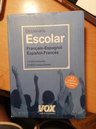 Diccionario escolar francés-español
