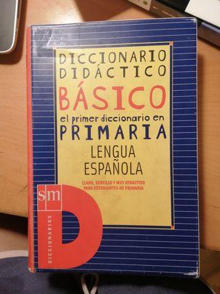 Diccionario básico primaria lengua española