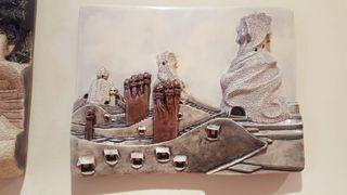 Cuadro modernista, cerámica