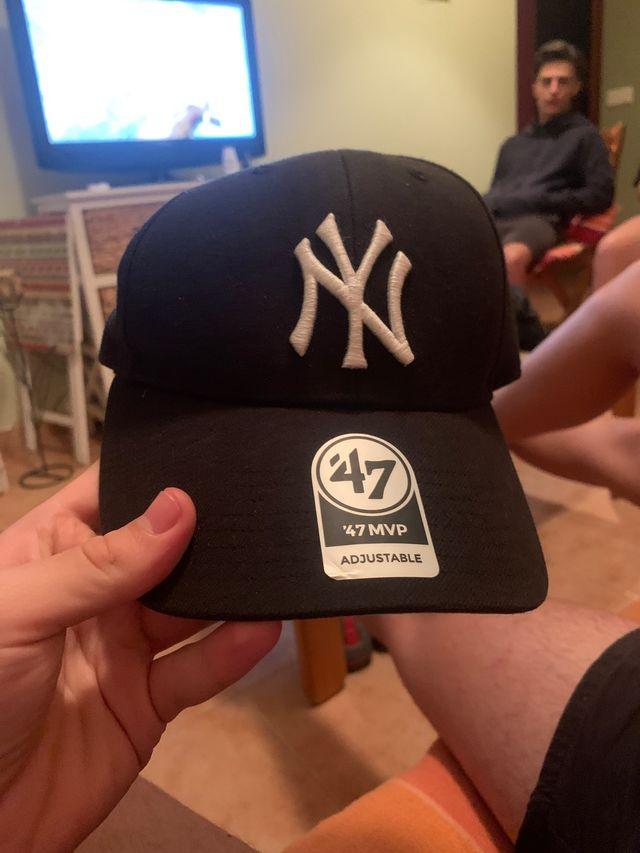 Gorra negra new york yankees